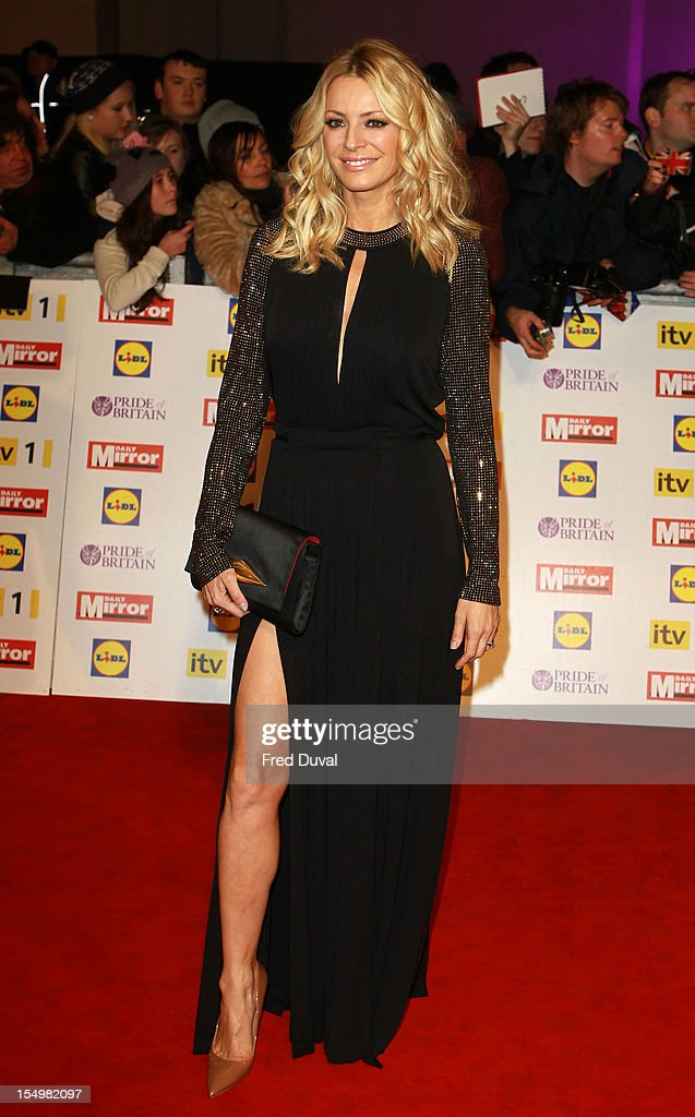 Tess Daly attends the Pride Of Britain awards at Grosvenor House, on October 29, 2012 in London, England.