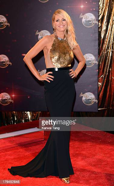Tess Daly attends the red carpet launch for 'Strictly Come Dancing' at Elstree Studios on September 3 2013 in Borehamwood England
