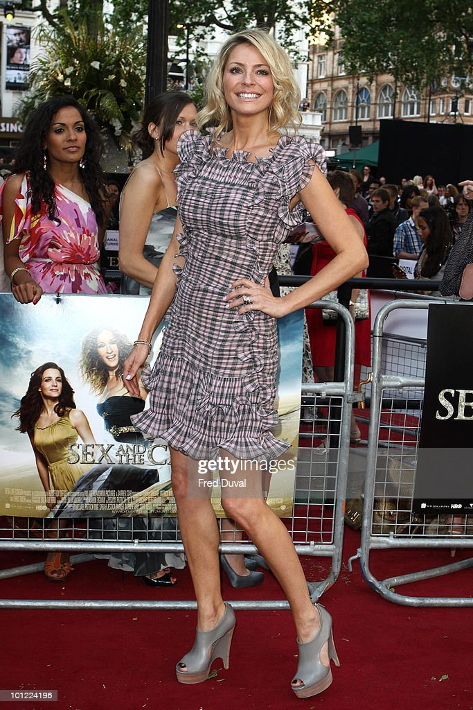 Tess Daly attends the UK premiere of Sex And The City 2 at Odeon Leicester Square on May 27, 2010 in London, England.