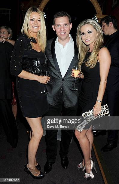 Tess Daly Nick Candy and Ola Jordan attend Candy Candy CEO Nick Candy's 39th birthday party in association with Ciroc Vodka at No 5 Cavendish Square...