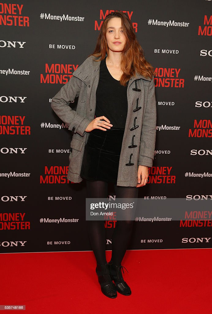 Tess Haubrich arrives ahead of the Money Monster Australian Premiere at Event Cinemas George Street on May 30, 2016 in Sydney, Australia.