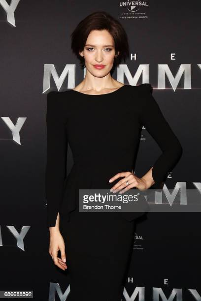 Tess Haubrich arrives ahead of The Mummy Australian Premiere at State Theatre on May 22 2017 in Sydney Australia