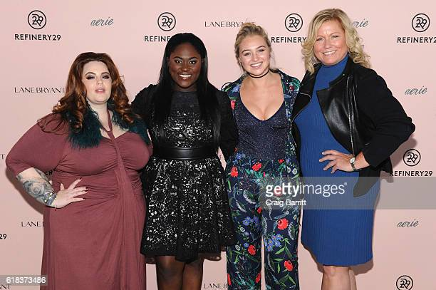 Tess Holliday Danielle Brooks Iskra Lawrence and Emme attend Refinery29's Every Beautiful Body Symposium at Brookfield Place on October 26 2016 in...