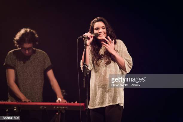 Tess opens for Loic Nottet at Salle Pleyel on May 26 2017 in Paris France