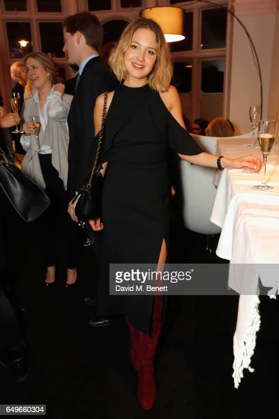 Tess Ward at the launch party of the Women's Space on International Women's Day on March 6 2017 in London England