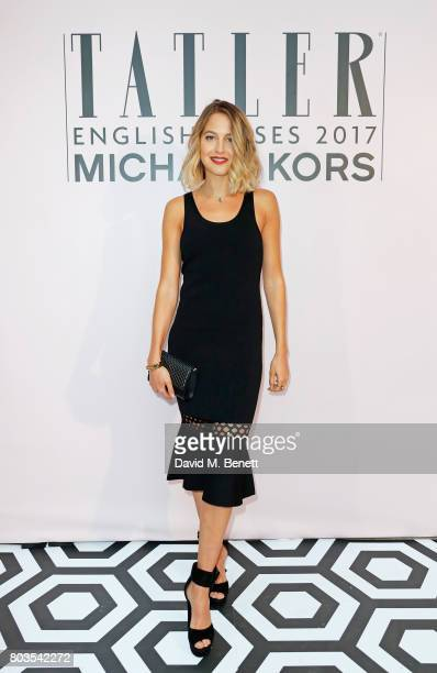 Tess Ward attends Tatler's English Roses 2017 in association with Michael Kors at the Saatchi Gallery on June 29 2017 in London England