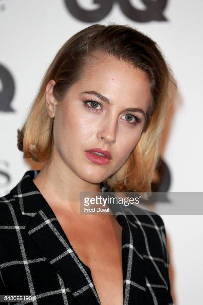 Tess Ward attends the GQ Men Of The Year Awards at Tate Modern on September 5 2017 in London England
