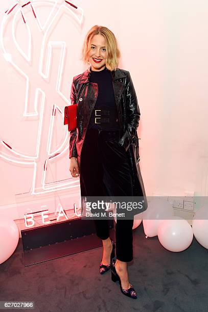 Tess Ward attends the YSL Beauty Club party hosted by YSL Beauty and Victor Demarchelier on December 1 2016 in London England