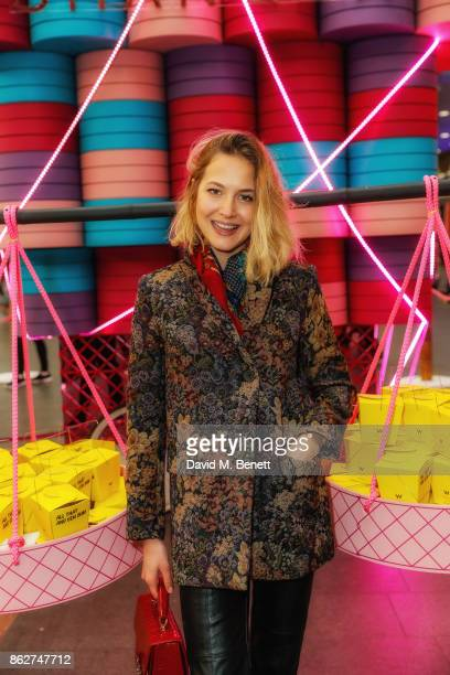 Tess Ward attends W Hotels popup in partnership with Chef Ning Ma of Mamalan to celebrate the opening of W Shanghai The Bund at Kings Cross Station...
