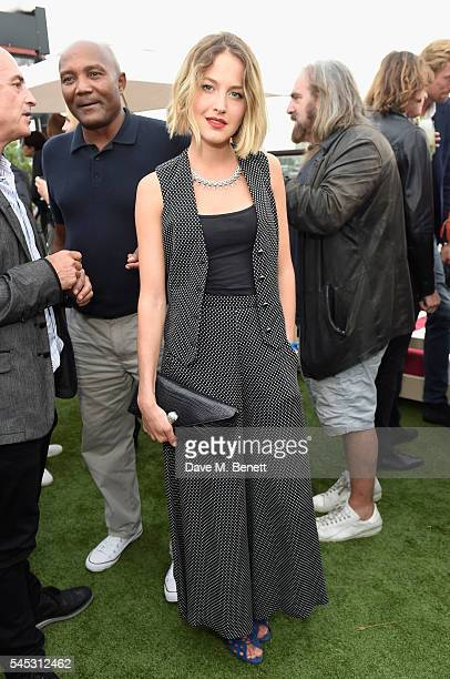 Tess Ward attends Warner Music Group Summer party in association with British GQ and Quintessentially on July 6 2016 in London England