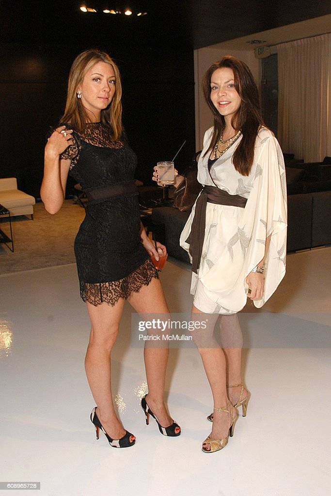 Tessa Benson and Cyia Batten attend Allegra Hicks and Divine Design Trunk Show to support Project Angel Food's Divine Design 2007 at Minotti Showroom on November 7, 2007 in Beverly Hills, CA.