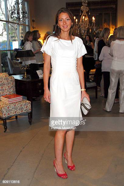 Tessa Benson attends Cocktails at Hollyhock Honoring Mish NY and the Breast Center at UCLA at West Hollywood on May 7 2007 in West Hollywood...
