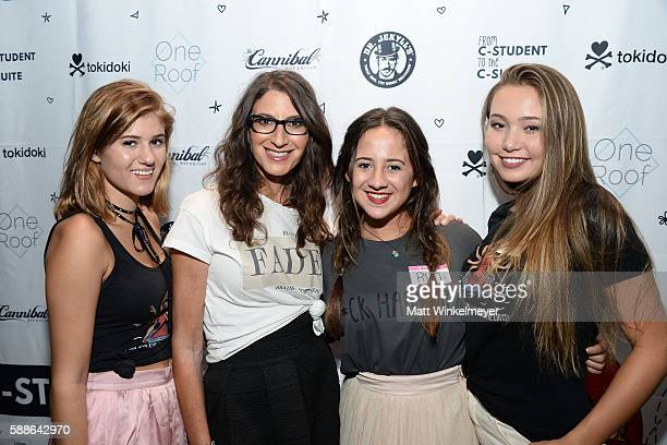 Tessa De Nicola Tami Holzman Ruth Sack Maggie Todd attend the book launch for 'From CStudent to the CSuite Leveraging Emotional Intelligence' at...