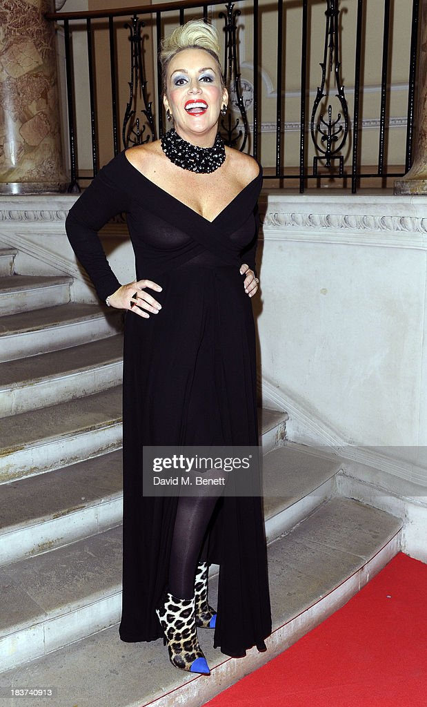 Tessa Hartmann arrives at the Scottish Fashion Invasion of London at the 8th Annual Scottish Fashion Awards 2013 at Dover House on October 9, 2013 in London, England.