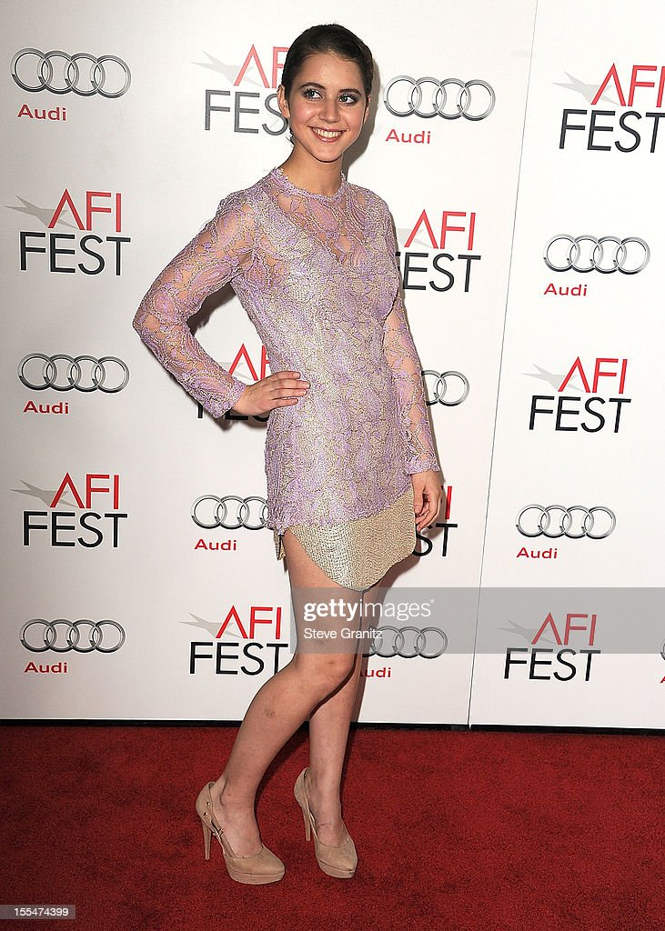Tessa Ia arrives at the 2012 AFI FEST - 'Holy Motors' Special Screening at Grauman's Chinese Theatre on November 3, 2012 in Hollywood, California.
