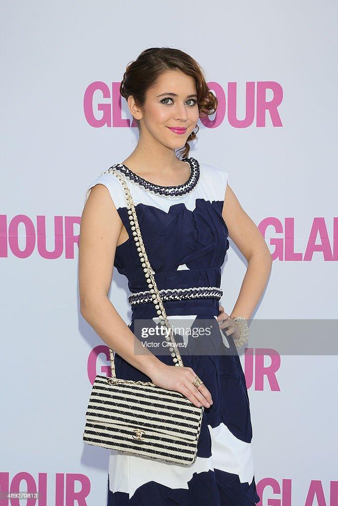 Tessa Ia attends the Glamour Magazine México Beauty Awards 2013 at Museo Rufino Tamayo on February 13 2014 in Mexico City Mexico