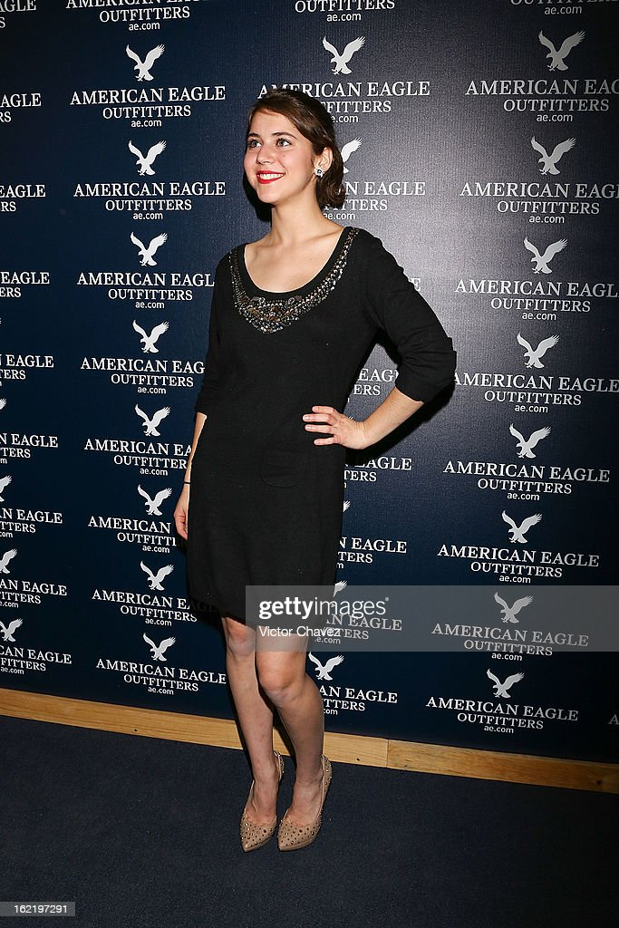 Tessa Ia attends the opening of the American Eagle Mexico City store at Centro Comercial Perisur on February 19, 2013 in Mexico City, Mexico.