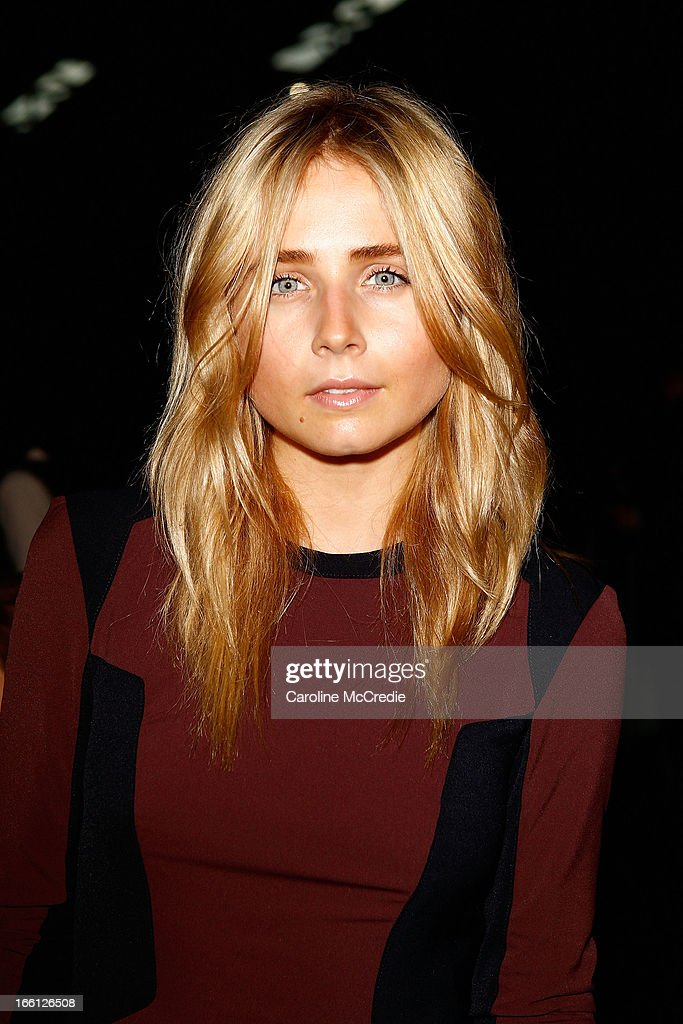 Tessa James attends the Manning Cartell show during Mercedes-Benz Fashion Week Australia Spring/Summer 2013/14 at The Shed, Carriageworks on April 9, 2013 in Sydney, Australia.