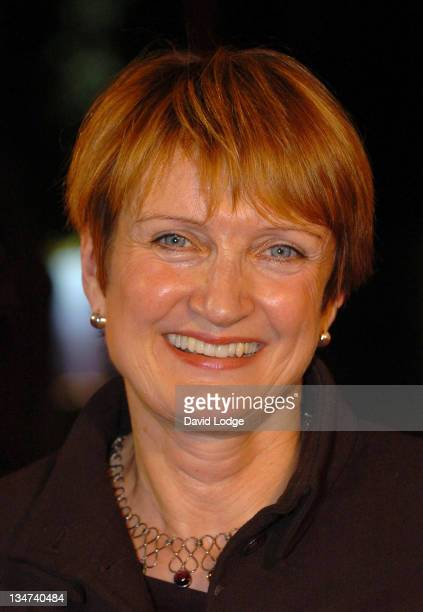 Tessa Jowell during 2005 BBC Sports Personality of the Year at BBC Television Centre in London Great Britain