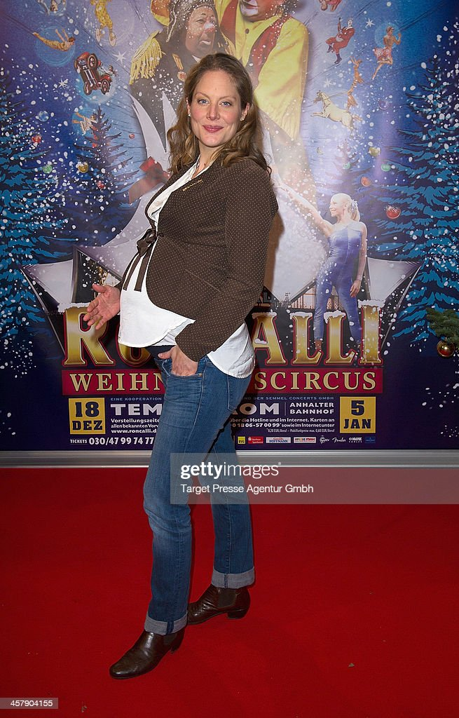 Tessa Mittelstaedt attends the 10th Roncalli Christmas Circus at Tempodrom on December 19, 2013 in Berlin, Germany.