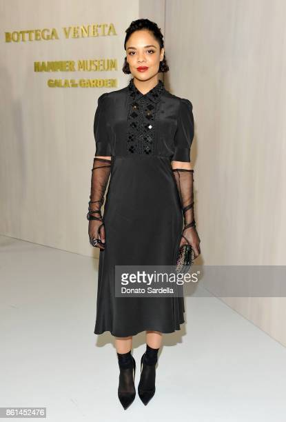 Tessa Thompson at the Hammer Museum 15th Annual Gala in the Garden with Generous Support from Bottega Veneta on October 14 2017 in Los Angeles...