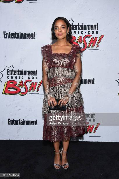 Tessa Thompson attends the Entertainment Weekly's Annual ComicCon Party 2017 at Float at Hard Rock Hotel San Diego on July 22 2017 in San Diego...