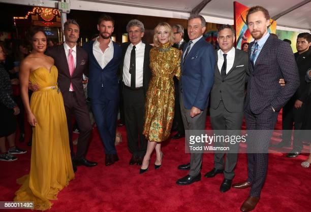 Tessa Thompson Director Taika Waititi Actor Chris Hemsworth Chairman The Walt Disney Studios Alan Horn Actor Cate Blanchett The Walt Disney Company...