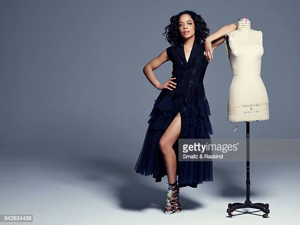 Tessa Thompson is photographed for The Hollywood Reporter on March 8 2016 in Los Angeles California