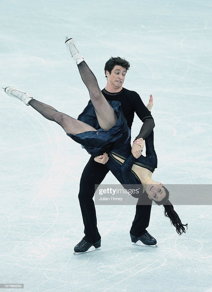 Tessa Virtue and Scott Moir of Canada perform in the Ice Dance Free Dance during the Grand Prix of Figure Skating Final 2012 at the Iceberg Skating Palace on December 8, 2012 in Sochi, Russia.