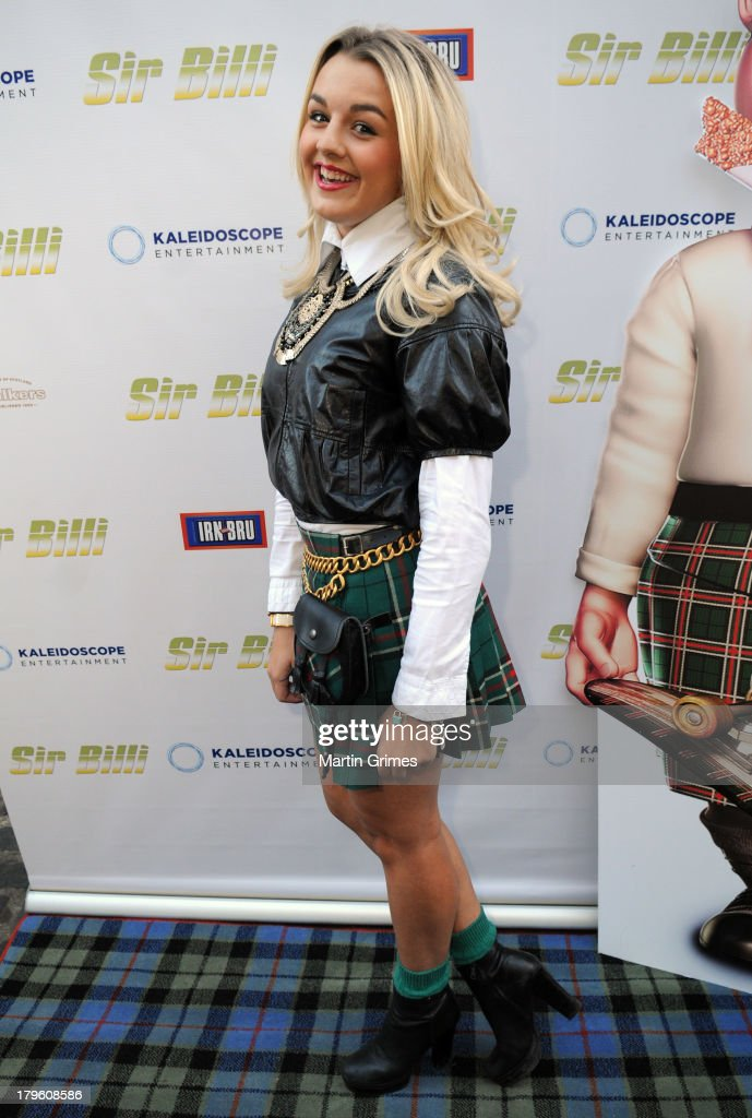 Tessie Hartmann attends the 'Sir Billi' press screening at The Grosvenor Cinema on September 5, 2013 in Glasgow, Scotland.