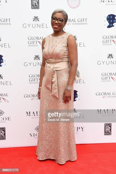 Tessy Ojo attends the Global Gift Gala for The Diana Award hosted by Earl Spencer at Althorp House on June 14 2017 in Northampton England