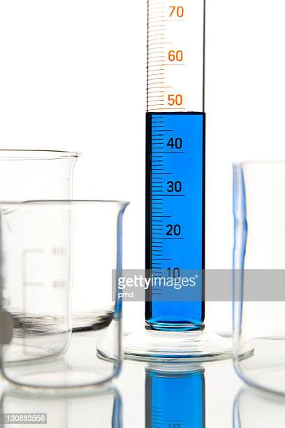 Test tubes, chemicals
