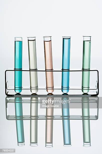 Test tubes in a holder