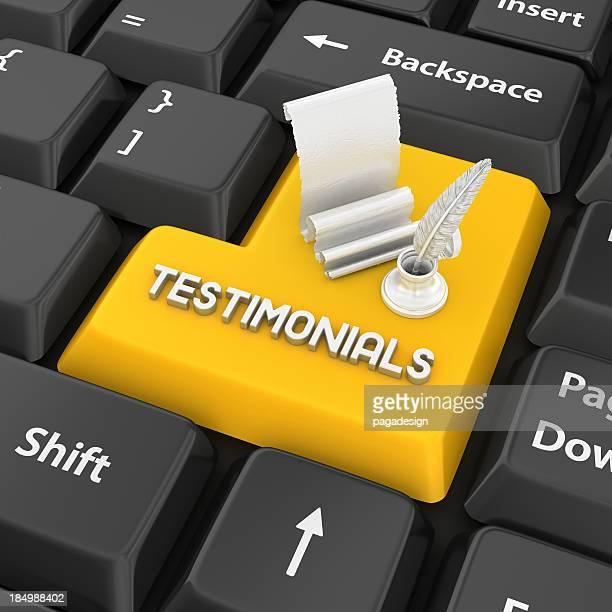 testimonials enter key