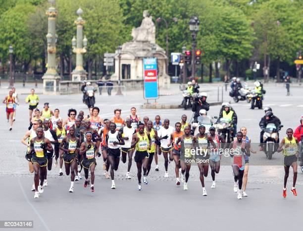 Tete de course 32e Marathon de Paris