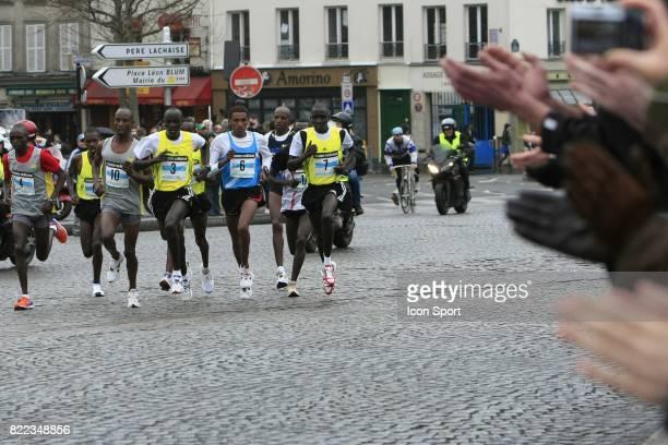 Tete de course Semi marathon de Paris 2009