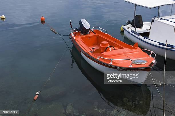 Tethered boat