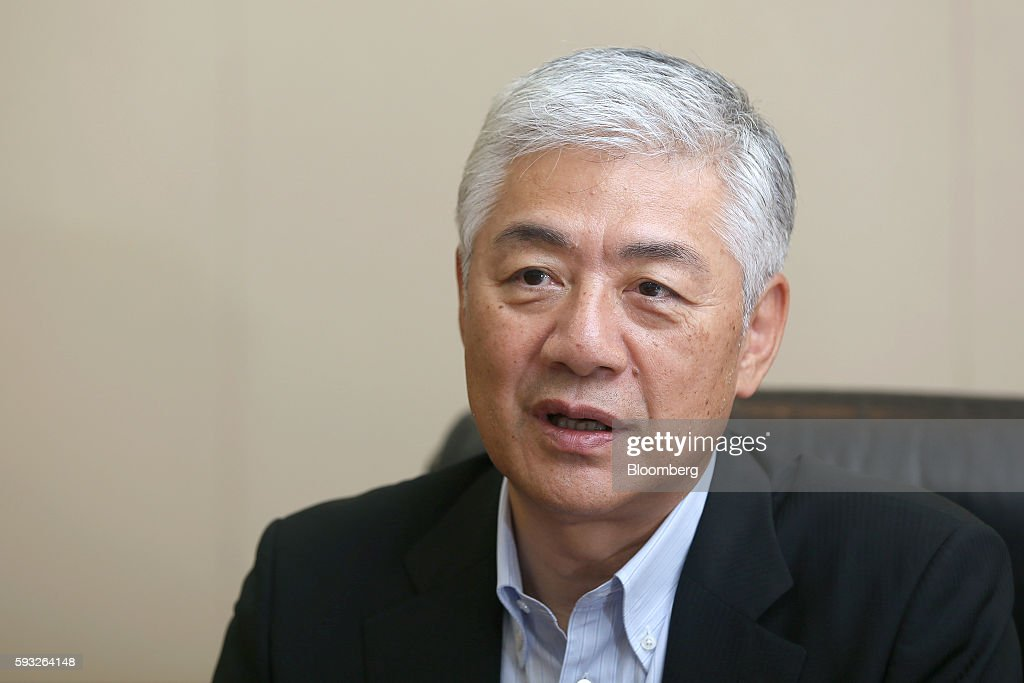 Tetsu Ozaki chief operating officer of Nomura Holdings Inc speaks during an interview at the company headquarters in Tokyo Japan on Monday Aug 15...
