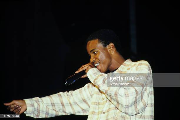 Tevin Campbell performs at Kiss Concert in Great Woods Mansfield Massachusettes June 4 1994