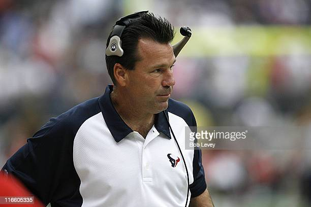 Texans head coach Gary Kubiak The Houston Texans defeated the Miami Dolphins 175 Oct 1 2006 at Reliant Stadium in Houston Texas