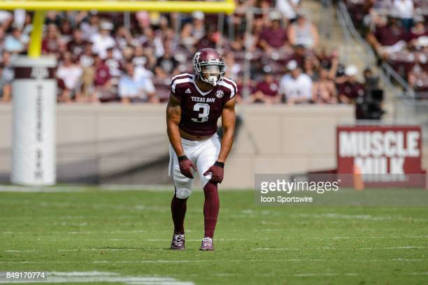 Texas AM Aggies wide receiver Christian Kirk gets set for a play during the college football game between the Louisiana Ragin' Cajuns and the Texas...
