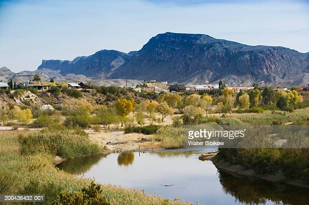 USA, Texas, Big Bend area, Lajitas, Rio Grande scenic