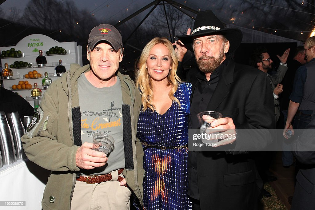 Texas Governor Rick Perry, Eloise DeJoria and John Paul DeJoria attend Forbes' '30 Under 30' SXSW Private Party on March 11, 2013 in Austin, Texas.