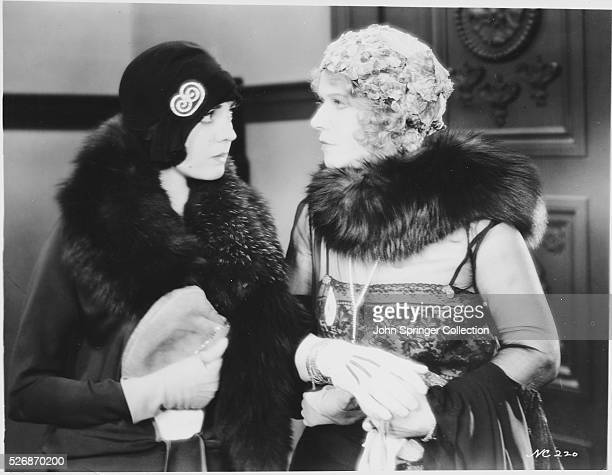 Texas Guinan and Lila Lee in a scene from the 1929 dramatic musical Queen of the Night Clubs