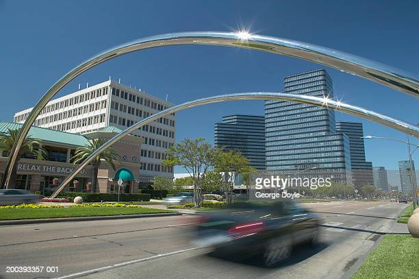 USA, Texas, Houston, uptown, Post Oak Boulevard