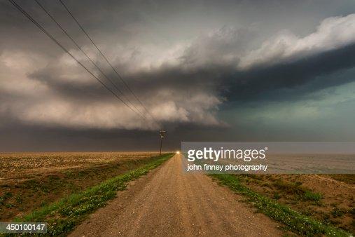 Texas Panhandle Storm : Stock Photo
