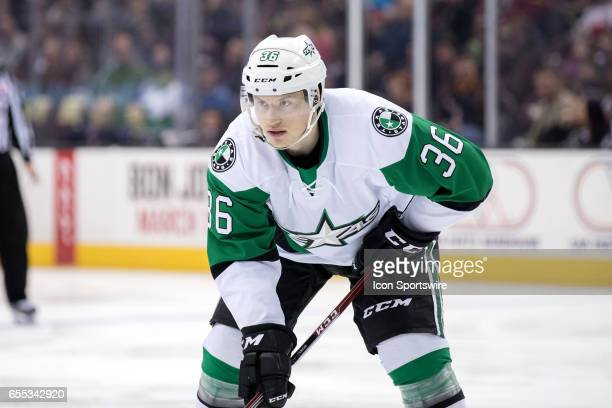 Texas Stars C Mark McNeill during the first period of the AHL hockey game between the Texas Stars and Cleveland Monsters on March 18 at Quicken Loans...
