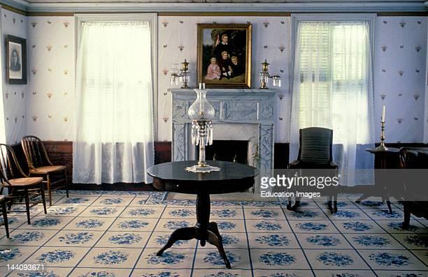 Texas Winnedale Winnedale Historical Center Interior Formal Living Room