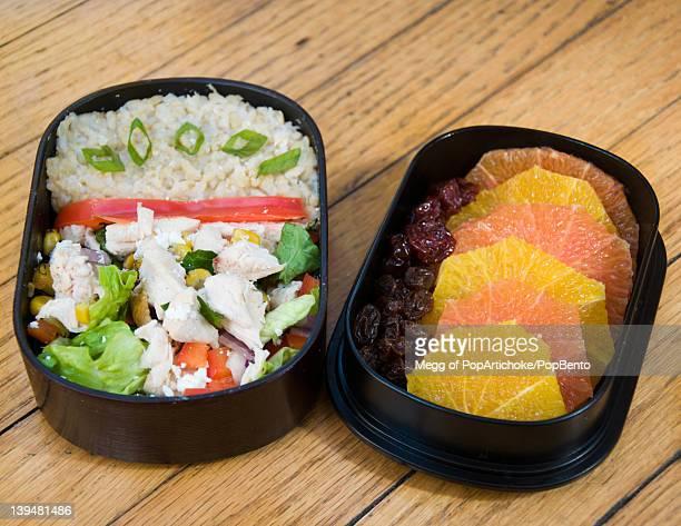 Tex-Mex chicken salad bento