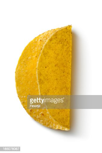 TexMex Ingredients: Taco Shell : Stock Photo